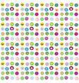 cute wrapping paper for gifts vector image vector image