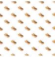 hanukkah doughnut pattern vector image vector image