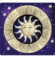 Horoscope vector image vector image