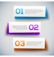 Infographic design on the grey background vector image vector image