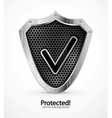 protected icon vector image vector image