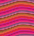 red wavy stripes background vector image