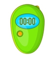 Stopwatch icon cartoon style vector image vector image