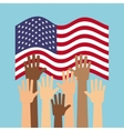 usa country design vector image vector image