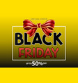 abstract black friday sale background for poster vector image vector image