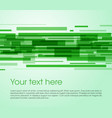 abstract rectangle background in green color vector image vector image