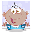 Happy baby cartoons vector image