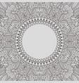 luxury decorative background premium damask vector image vector image
