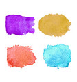 modern colorful watercolor background vector image