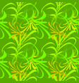 pattern from green lines and hieroglyphs for vector image