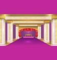 stateroom violet luxury design background vector image vector image