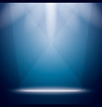 Abstract Background with Bright Stage Light Rays vector image