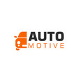 automotive logo vehicle icon transportation logo vector image vector image