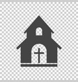 church sanctuary icon simple flat pictogram for vector image