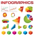 colorful infographic collection vector image