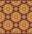 fantasy abstract decorative oriental floral vector image