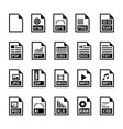 file icon vector image vector image
