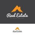 Real estate house logo icon vector image