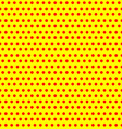 repeatable duotone yellow-red pop-art polka dot vector image vector image