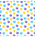 Seamless background with watercolor dots vector image vector image