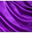 Smooth elegant lilac silk vector image vector image