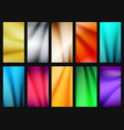 vibrant simple background set vector image vector image