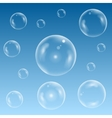 Water bubble set vector image vector image