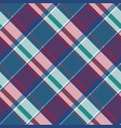 abstract asymmetrical check plaid seamless pattern vector image vector image
