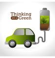 Energy design vector image vector image
