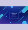 minimal geometric business background vector image vector image