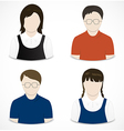 People icon vector image vector image