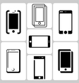 Phone Logo Set vector image vector image