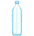 plastic bottle icon vector image vector image