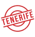 Tenerife rubber stamp vector image