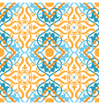 keltic pattern yellow vector image