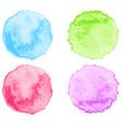 watercolor splatter vector image