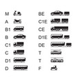 driving licences for different road vehicles