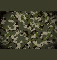 camouflage pattern background military vector image