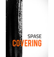 covering-spase vector image vector image