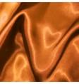 Golden satin texture vector image vector image