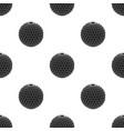 golf ballgolf club single icon in black style vector image vector image