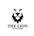lion king logo designs modern simple vector image vector image