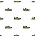 rag camouflage sneakers for everyday wear vector image vector image