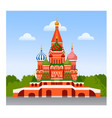 staint basil cathedral vector image