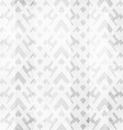 white geometric seamless texture with grunge vector image