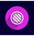 Apps metal-carbon icon carbon fiber black vector image vector image