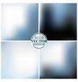 Blurred background set vector image vector image