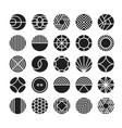 circle geometric icon ornament vector image vector image