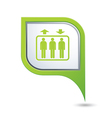 lift GREEN pointer vector image