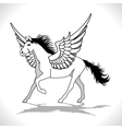 Pegasus Winged Stallion vector image
